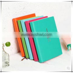 Top quality customer design pu leather diary notebooks ,factory price multicolor diary notebooks with elastic band and ribbon Supplier's Choice