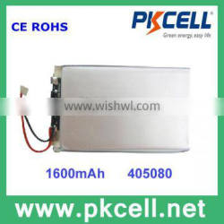 3.6V Lithium polymer Battery 3.7V 1800mAh capacity mobile phone battery