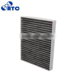 Top quality AE9Z-19N619-A CA-19250 carbon air filter / pleated cabin filter