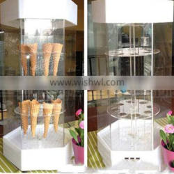 ice cream cone display