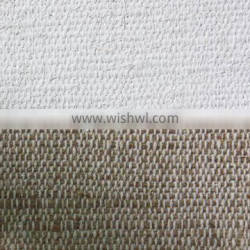 High quality Rough texture thick fine jute canvas oil paintings set of 3