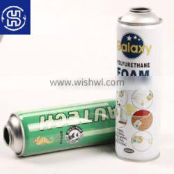 Empty tin aerosol cans for PU foam