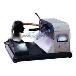 Protective Mask visual field tester for testing