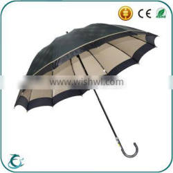 12 ribs 2 layer windproof golf umbrella