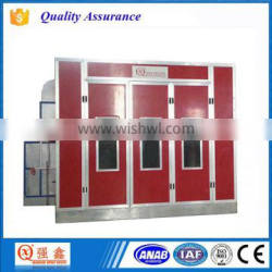 CE Approved Riello Diesel Heating System Vehicle Paint Booth Baking Oven