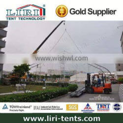 curve tension structure tent curved marquee