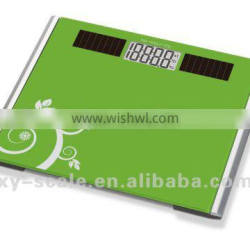 Tempered glass platform with 150kg capacity, digital scale