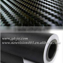 car wrap sticker/car wrapping vinyl foil/3d car wrapping film 1.52*30m with Thinkness :0.18mm in best quality