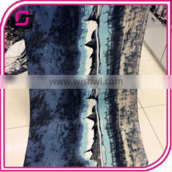 Women's spring and summer long fashion ink painting sunscreen all-match scarf