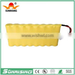 9.6V AA600 NI-CD rechargeable battery pack