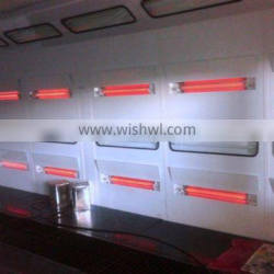 Infra-red heater Spray Booth