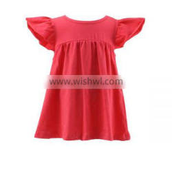 2016 latest design wholesale little baby girls princess fashion dress cotton baby girls dress