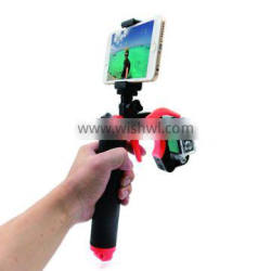 New arrival Telesin floaty bobber grip with pistol trigger set for Go Pro, Xiaomi and SJCAM action camera.