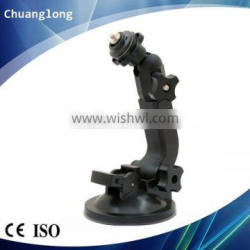 Hign Quality Adjustable PA Material 1/4 Screw Windshield Suction Cup Camera Mount
