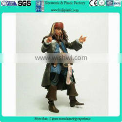 Pvc movie stars action figure/Resin Jack pirate toy action figure