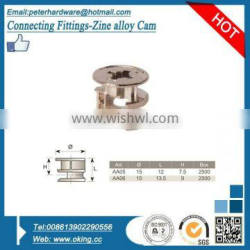 Connecting Cam, connecting fittings for furniture board