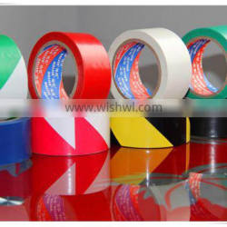 wear-resisting pvc adhesive floor masking tape for public warn and sign