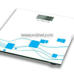 lowest price electronic personal weight scale 6mm glass