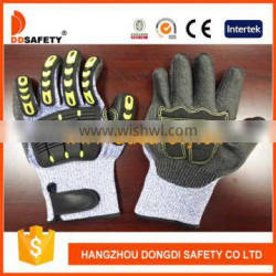 DDSAFETY 2017 Cheapest Cut Resistant Gloves Safety Gloves With TPR Protection