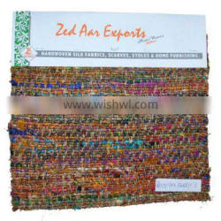 Manufacturer recycled silk fabrics for upholstery and Dress