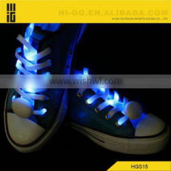 Fashion shoes accessories for women shoe led shoelaces