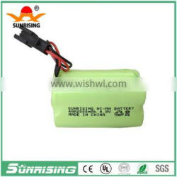 4.8V AA2000 Ni-mh rechargeable battery