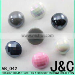 Acrylic Button for Shoes and Clothes