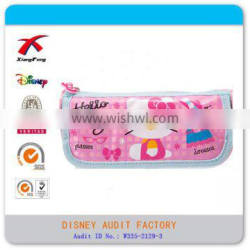 Alibaba factory beautiful popular hello kitty pencil bags