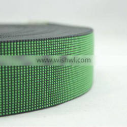 Strong elasticity sofa webbing tape on furniture