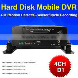 In Stock!!D1Hard Disk Mdvr 4CH Security Camera Dvr Military Vehicles /Bus /Car H264 Dvr Free Software