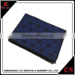 Warm Winter new arrival blue cashmere scarf