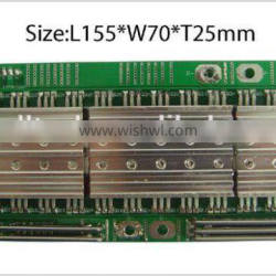 1-16S lithium ion and lifepo4 batteries BMS