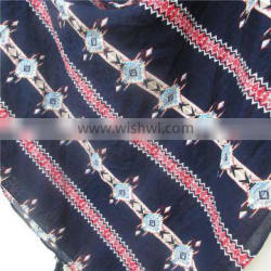 Square Indian pattern Hanging hot sell comfortable cotton scarf