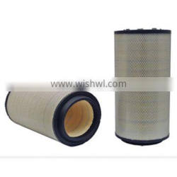 6128817042 Truck Air Filter With PU Cover And Metal Mesh