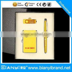 customized logo promotional pen with own patented product with power bank and USB Flash driver for gift