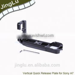 LB-A7 L-Shaped Vertical Quick Release Plate Camera Bracket For S ony A7 A7R