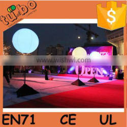 inflatable led pvc decoration light balloon for outdoor