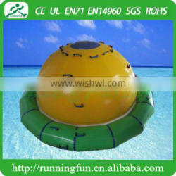 Inflatable water UFO, inflatable spinner water toys