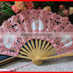 Vintage victorian lace fan for wedding