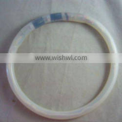 white LED Silicon Collar for pets