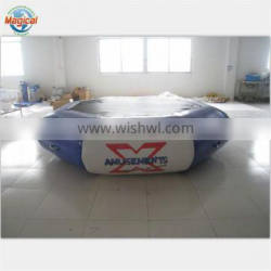 Exciting Round Inflatable water trampoline For adult and kids