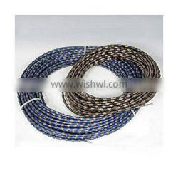 diamond wire saw for marble with beads diameter dia8-11mm