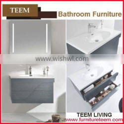 hot sales new design soild wood italian style sanitary commercial bathroom vanities