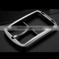 High quality customized men's zine alloy pin belt buckle new design 2016