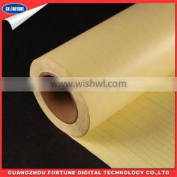 dull matte Protecting Cold Lamination PVC Film for Advertising Printing Material