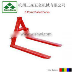 3 point Pallet Forks for Tractors