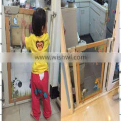 Safety and Secure Baby Products Wooden Safety Gate