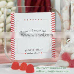 Acrylic photo frame with magnets HS-P202