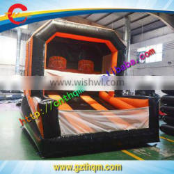 outdoor inflatable sport games giant inflatable basketball hoop