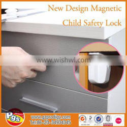 Double blister card packing baby locks safety magnet lock,magnetic baby door lock